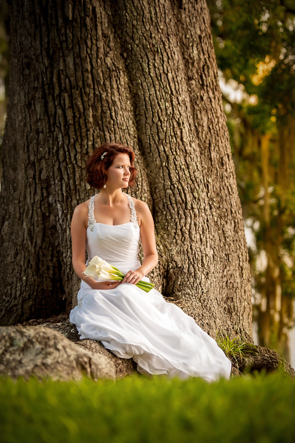 On the River Bridal Portraits